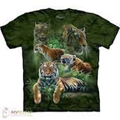T-shirt med Jungle Tigere motiv