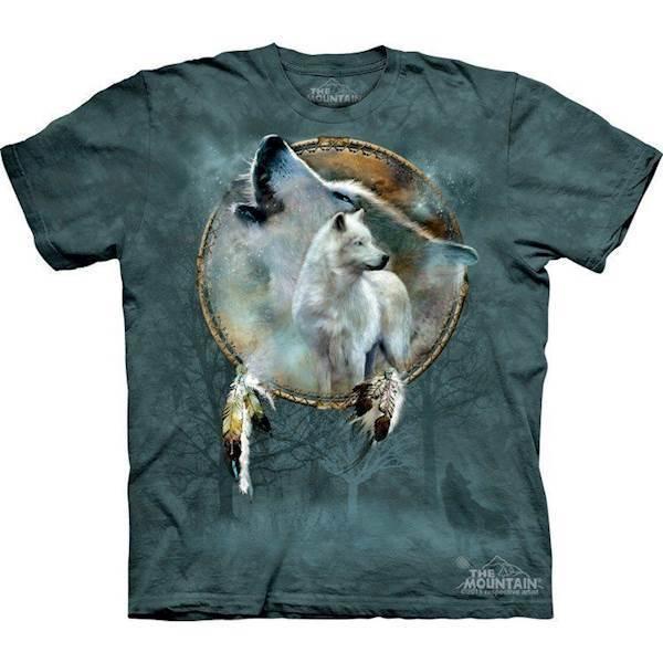 T-shirts med ulve i drømmefanger fra N/A fra mypets.dk