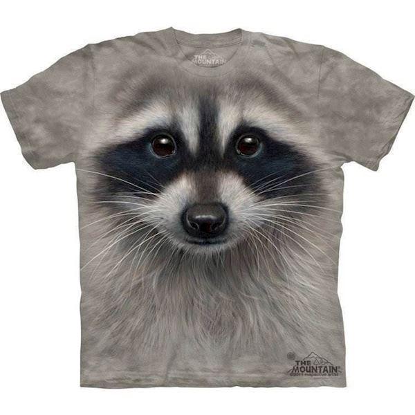 N/A – Vaskebjørn t-shirt fra mypets.dk