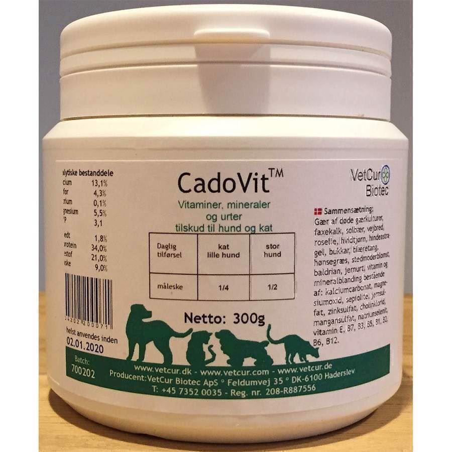 N/A – Cadovit, vitaminer, mineraler og urter til hund og kat på mypets.dk