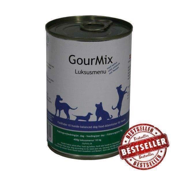 Gourmix luksus dåsemad med kallun, 400g fra N/A fra mypets.dk