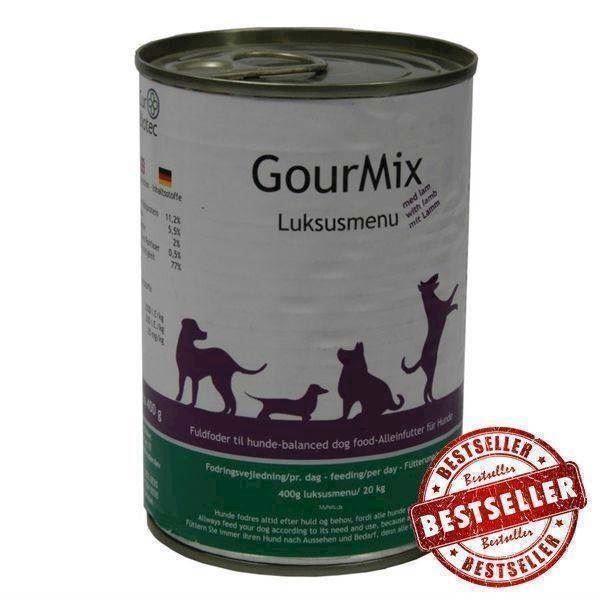 Gourmix luksus dåsemad med lam, 400g fra N/A på mypets.dk