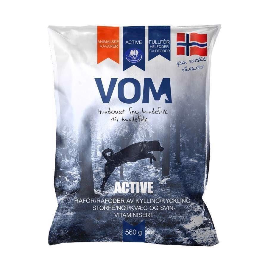 N/A Vom active fuldfoder kødboller, 560g fra mypets.dk