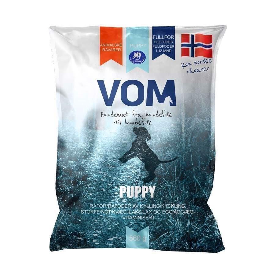 Vom puppy kødboller, 560 gr fra N/A på mypets.dk