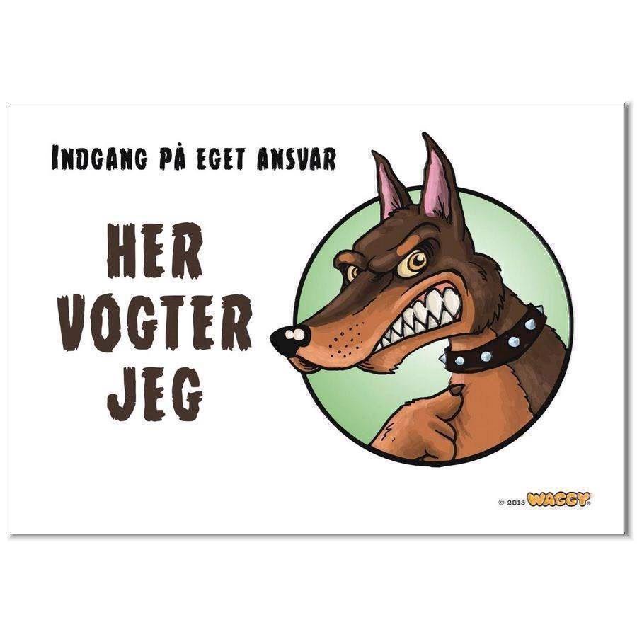 N/A Waggy her vogter jeg skilt, dobermann på mypets.dk