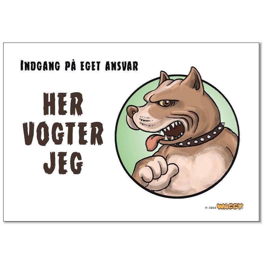 N/A – Waggy her vogter jeg skilt, pittbull fra mypets.dk