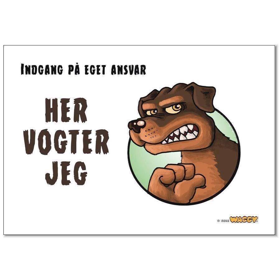 N/A Waggy her vogter jeg skilt, rottweiler fra mypets.dk