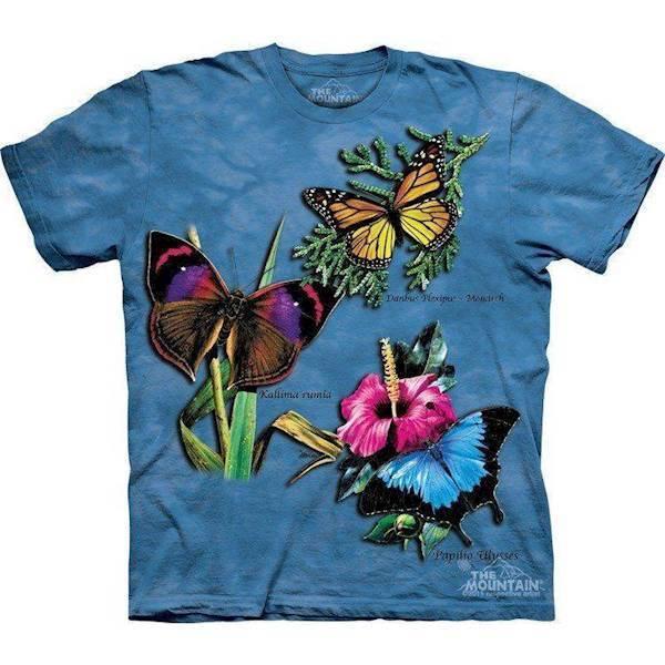 N/A – Sommerfugle collage t-shirt på mypets.dk