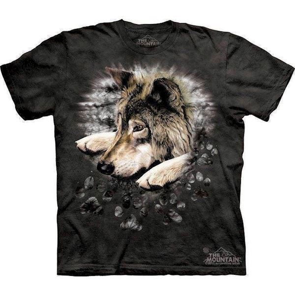 Wolf in dye paw t-shirt fra N/A på mypets.dk