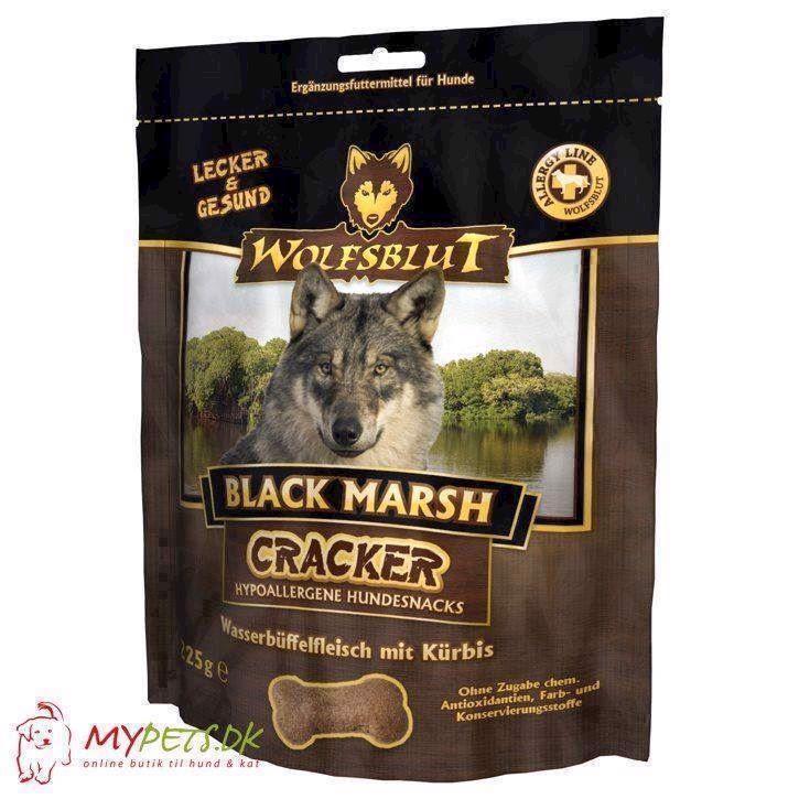 Wolfsblut cracker - black marsh - kornfri hundekiks fra N/A på mypets.dk