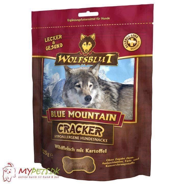 Wolfsblut cracker - blue mountain - kornfri hundekiks fra N/A på mypets.dk