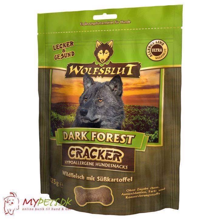 N/A – Wolfsblut cracker - dark forest - kornfri hundekiks på mypets.dk