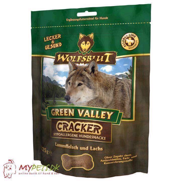 N/A Wolfsblut cracker - green valley - kornfri hundekiks på mypets.dk