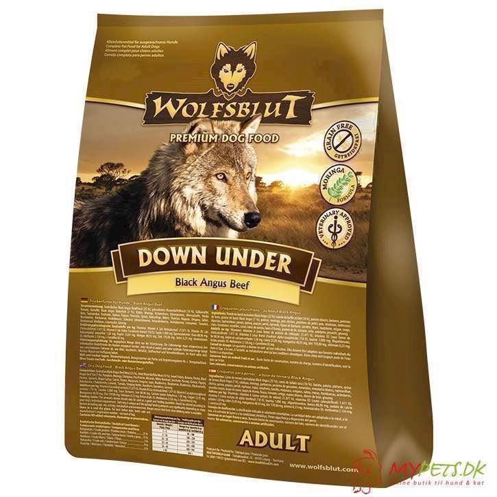 N/A Wolfsblut down under med oksekød, 2 kg fra mypets.dk