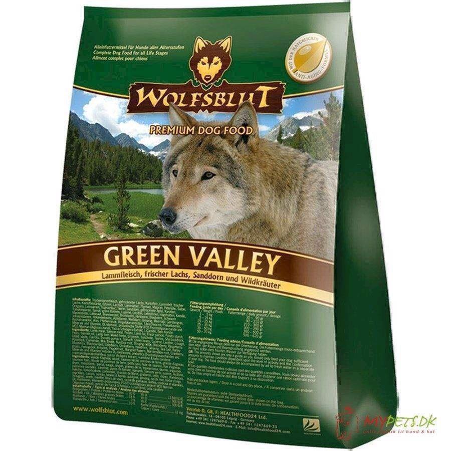 Wolfsblut green valley med lam & fisk, 2 kg fra N/A på mypets.dk