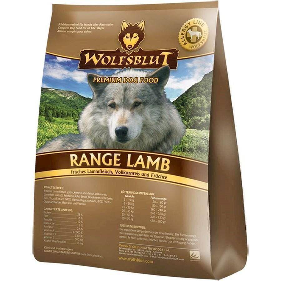 wolfsblut range lamb hundefoder stork b 2 s kke tilbud. Black Bedroom Furniture Sets. Home Design Ideas