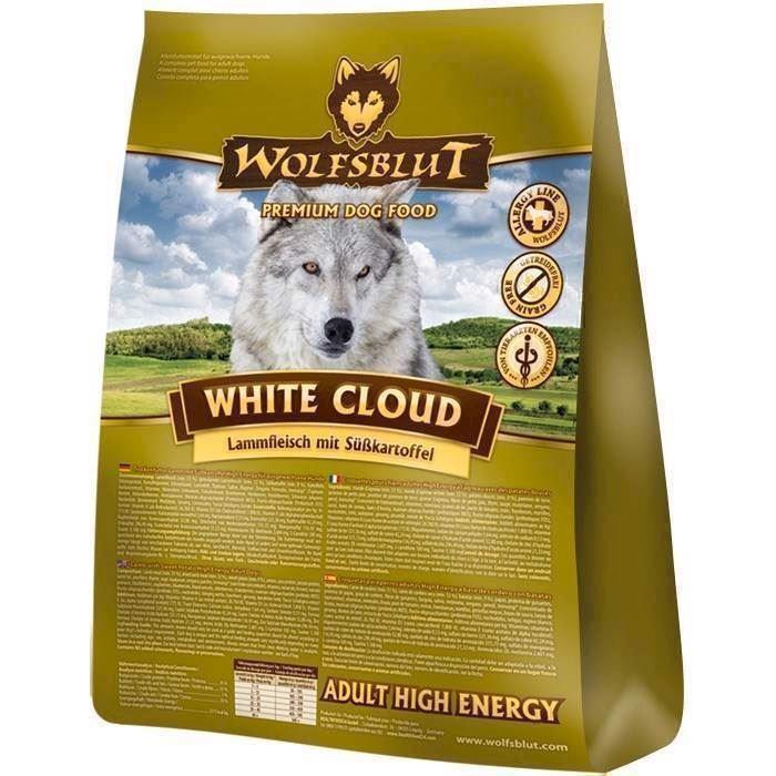 Wolfsblut white cloud energifoder, 15 kg fra N/A på mypets.dk