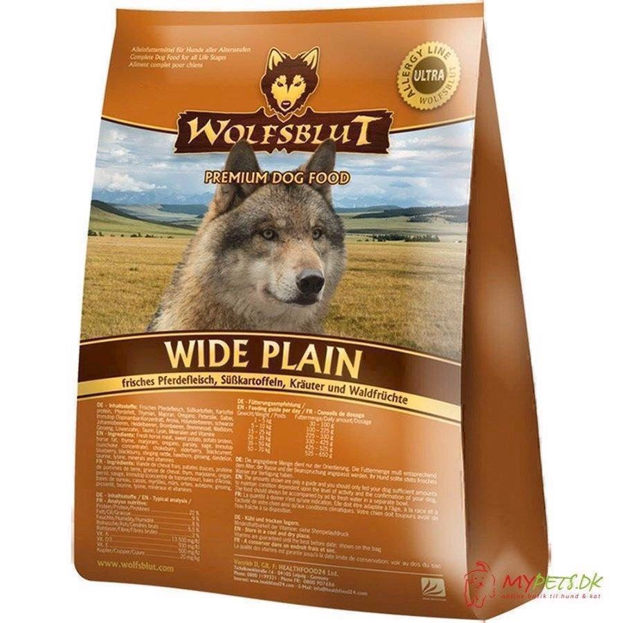 Billede af Wolfsblut Wide Plain Adult med hest, 2 kg