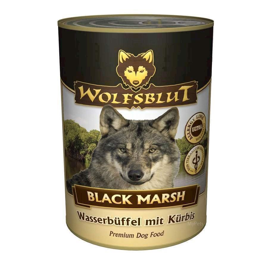 N/A Wolfsblut black marsh dåsemad, 395 gr. på mypets.dk