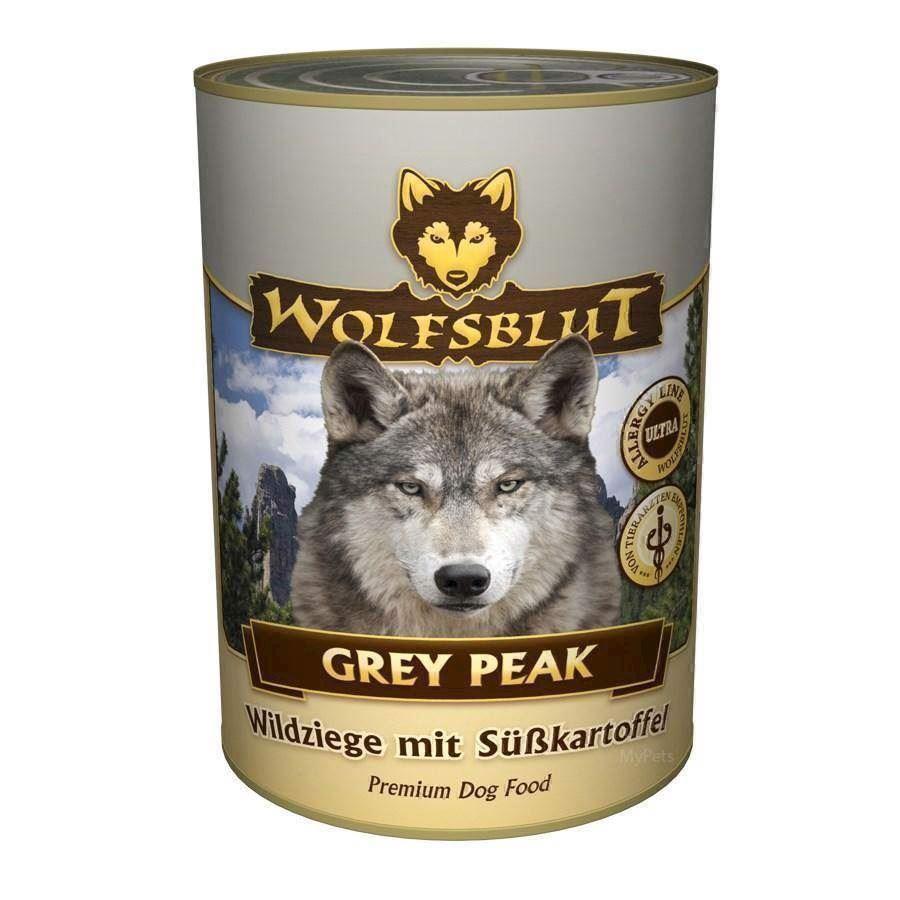 Wolfsblut grey peak dåsemad, 395 gr. fra N/A på mypets.dk