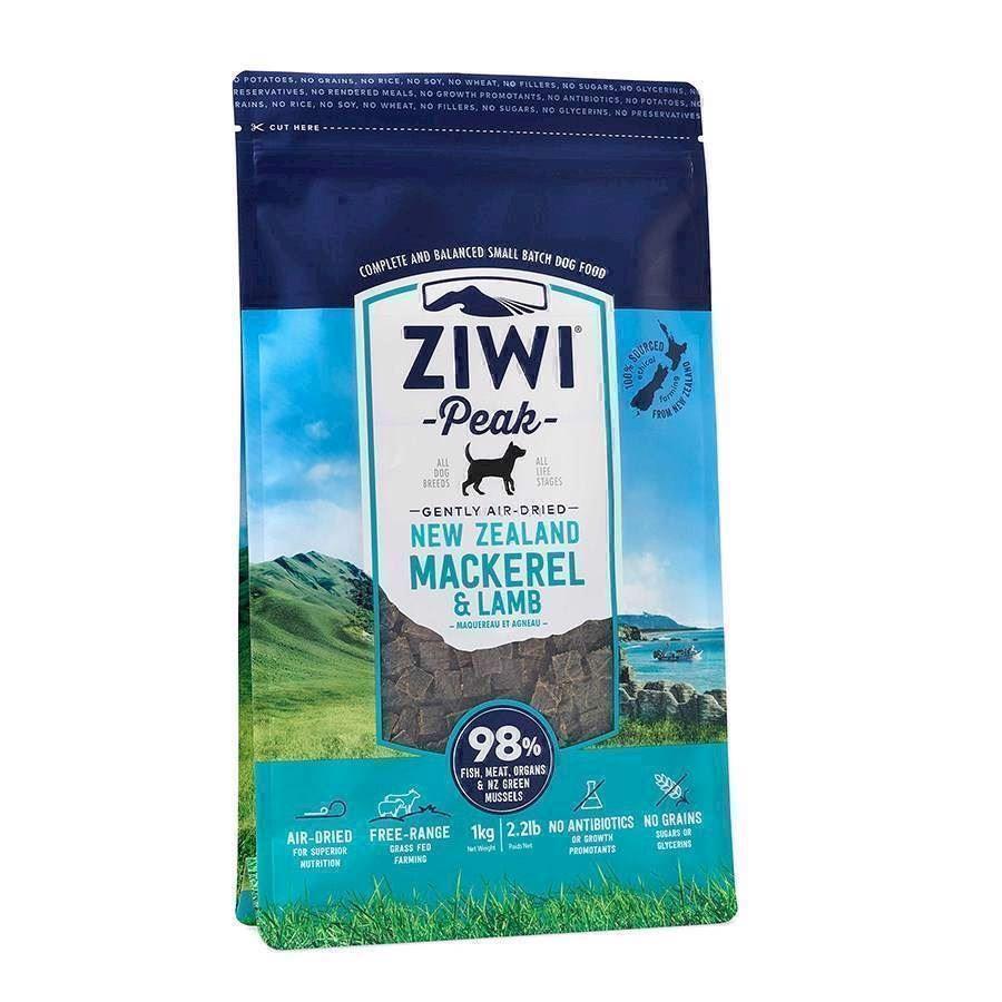 N/A – Ziwipeak mackarel and lamb, 1 kg på mypets.dk
