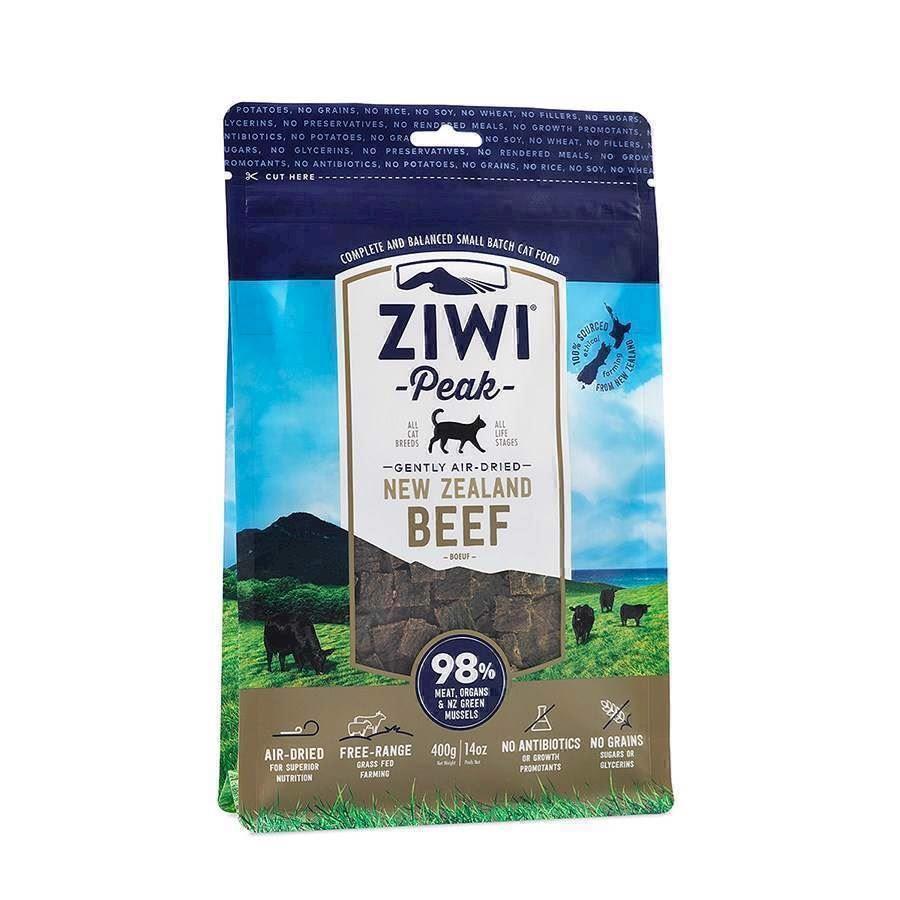 ZiwiPeak tørret kød med Beef, 400 gr.