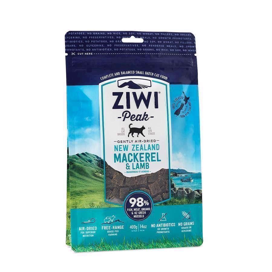 ZiwiPeak tørret kød med Makrel og lam, 400 gr.