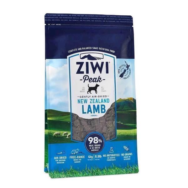 ZiwiPeak lufttørret kød med lam, 4 kg