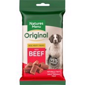 Natures menu treats beef