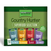 Natures Menu Country Hunter Superfood Mix, 12 x 150g