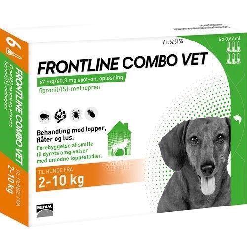 frontline loppegift til hunde 2 10 kg bonuspakke spar 50. Black Bedroom Furniture Sets. Home Design Ideas