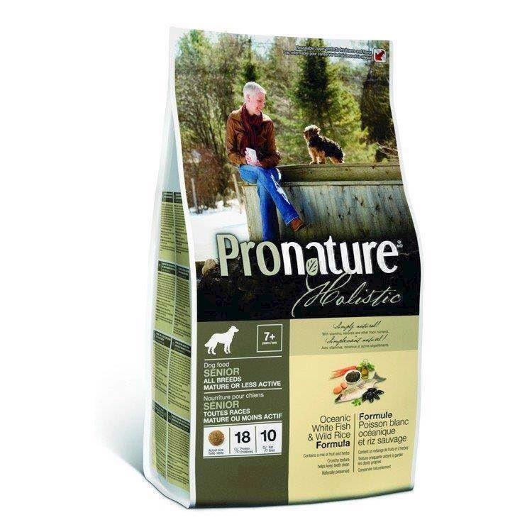 N/A – Pronature holistic senior & less active, 13,60 kg på mypets.dk