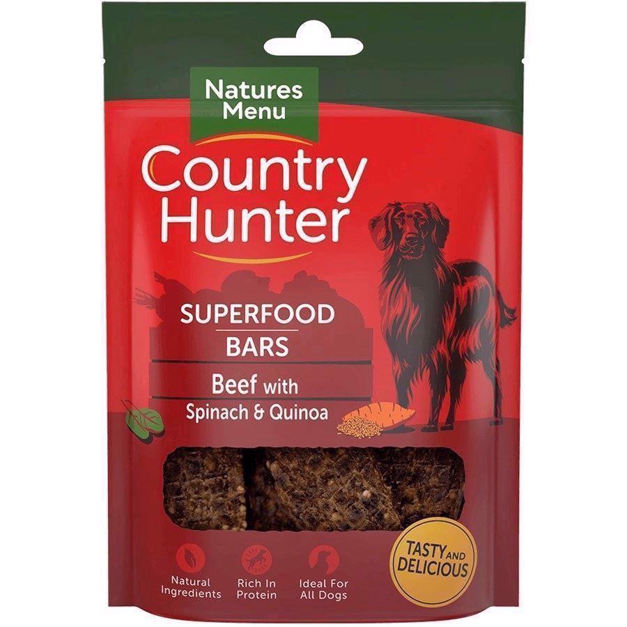 Natures Menu Superfood Bars Med Oksekød, 100G