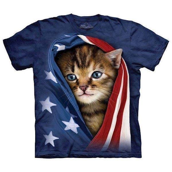 Patriotic kitten fra N/A fra mypets.dk
