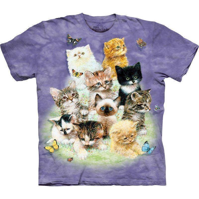 N/A T-shirt killinge collage på mypets.dk