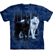 T-shirt B&W Wolves