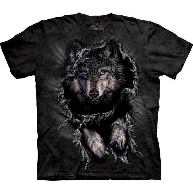 T-shirt breakthrough wolf fra N/A fra mypets.dk