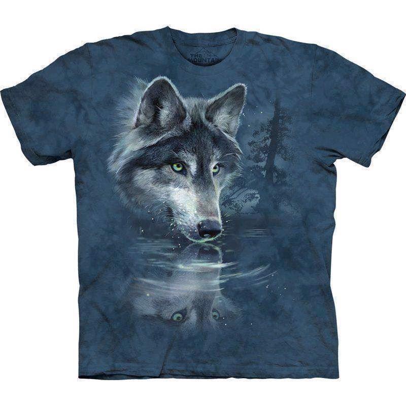 T-shirt wolf reflection fra N/A på mypets.dk
