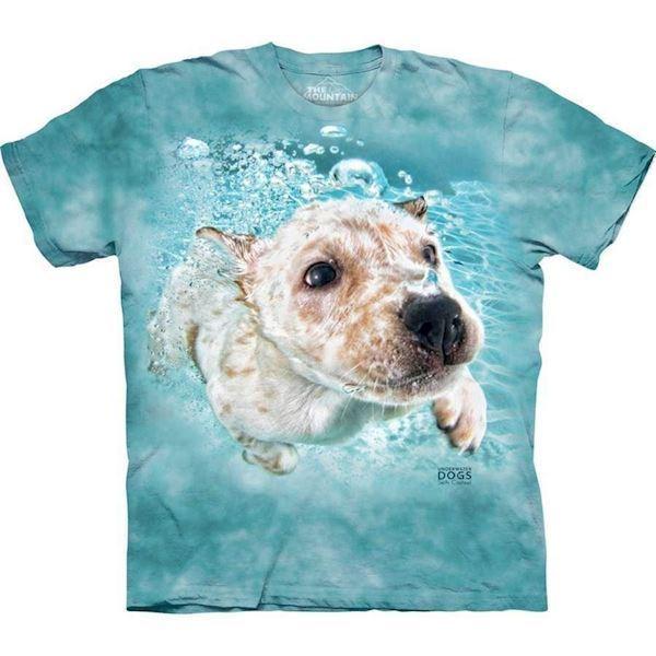 Underwater dog corey t-shirt fra N/A på mypets.dk