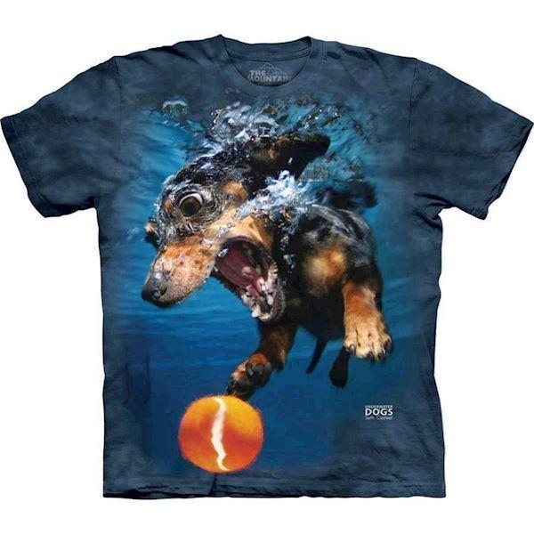 N/A Underwater dog rhoda t-shirt på mypets.dk