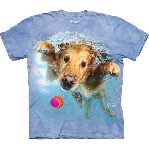 N/A Underwater dog frisco t-shirt på mypets.dk