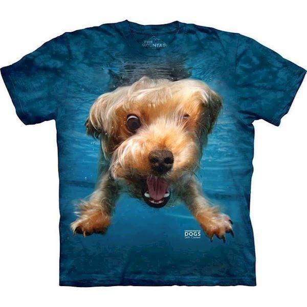 N/A – Underwater dog brady t-shirt fra mypets.dk