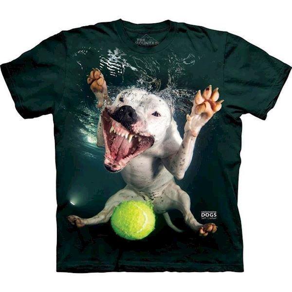 N/A Underwater dog grace t-shirt fra mypets.dk