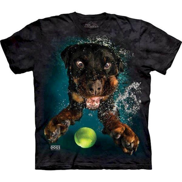 Underwater dog mylo t-shirt fra N/A fra mypets.dk