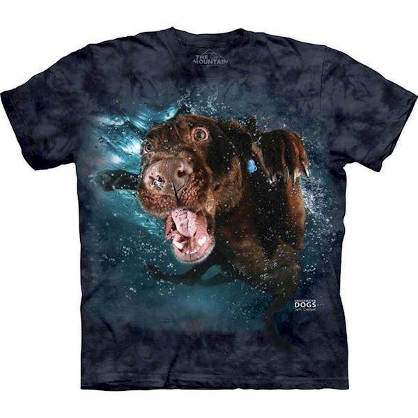 N/A – Underwater dog hodge t-shirt fra mypets.dk