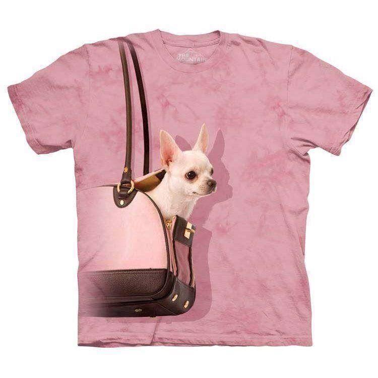 N/A Chihuahua handbag t-shirt fra mypets.dk