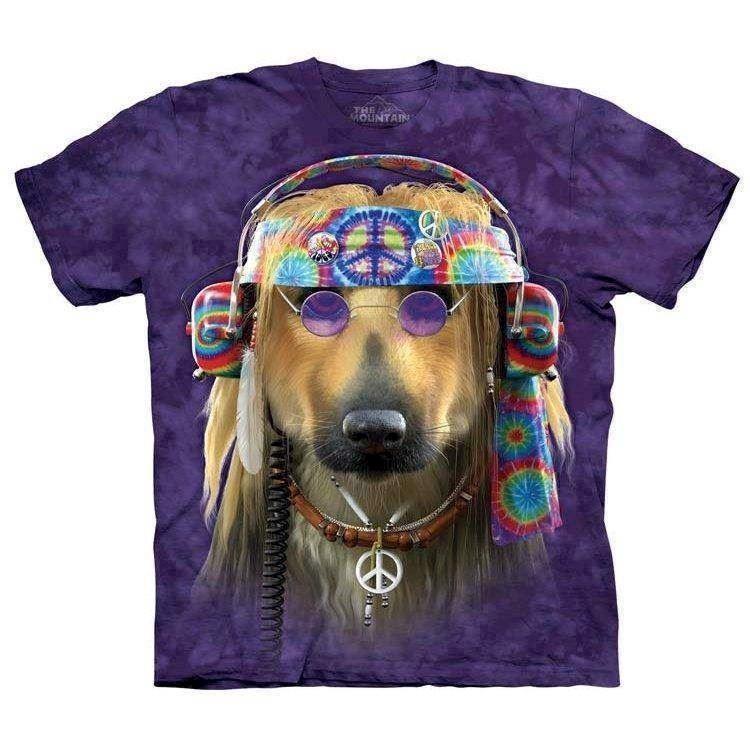 N/A Groovy dog t-shirt på mypets.dk