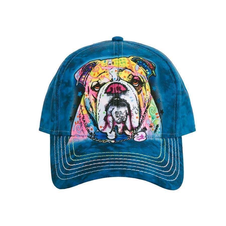 Colourful bulldog baseball cap fra N/A på mypets.dk