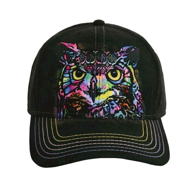 Russo owl baseball cap fra N/A på mypets.dk