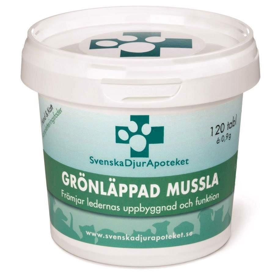 N/A – Svenska djurapoteket grønlæbet musling, 360 tabl fra mypets.dk